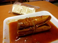 Larry's famous tamales - a Mississippi staple